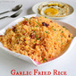 Garlic Fried Rice Recipe | How to make Sinangag