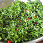 Taco Kale Salad with Chipotle Ranch Dressing