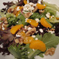 Mixed Greens and Mandarin Oranges with Homemade Dressing