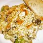 Summer Squash and Barley Gratin with Baby Eggplant