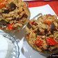 Eggplant Pepper Egg Parmigiano