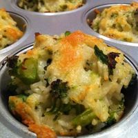 How about Baked broccoli-cheddar rice dish