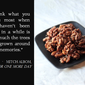 Candied Sesame Walnuts & Snapshots of my Hometown
