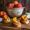 Peach and Gorgonzola Crostini