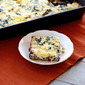 Sausage and Egg Casserole with Mushrooms, Sun-dried Tomatoes, and Mozzarella