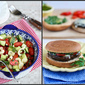 New Recipes: Hearts of Palm Salad, Oven-Fried Chicken & Portobello Mushroom Burger