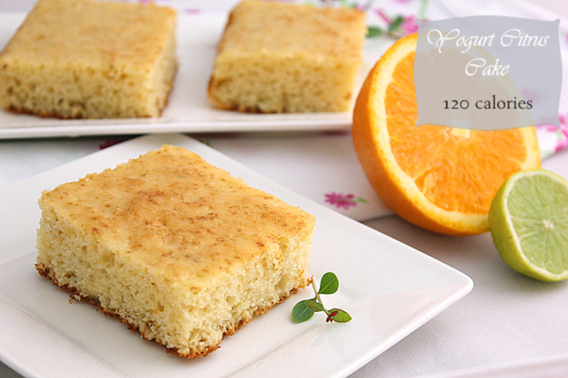 Cake Recipe With Low Fat Yogurt: Low Calorie + {Giveaway} Recipe By