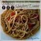 One Pot Spaghetti Dinner