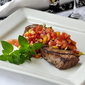 Mexican Spiced Steak with Sweet Pepper Salsa