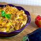 Scalloped Eggplant Strata