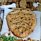Baking | Whole Wheat Walnut Garlic Cheddar Fougasse … and a focaccia too #comfortfood #vegetarian #bread
