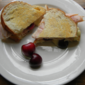 Turkey Brie and Cherry Grilled Sandwich