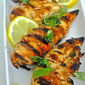 Grilled Lemon, Rosemary, & Basil Chicken Tenders