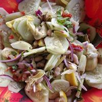 Cucumber& Cannellini Bean Salad