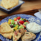 Grilled Greek Chicken with Tzatziki Sauce