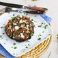 Southwestern Stuffed Portobello Mushroom Recipe with Cumin Black Beans {Vegetarian}