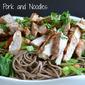 Peanut Pork and Noodles