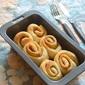 Eggless cinnamon rolls or cinnamom pull aparts -- easy bread baking recipes