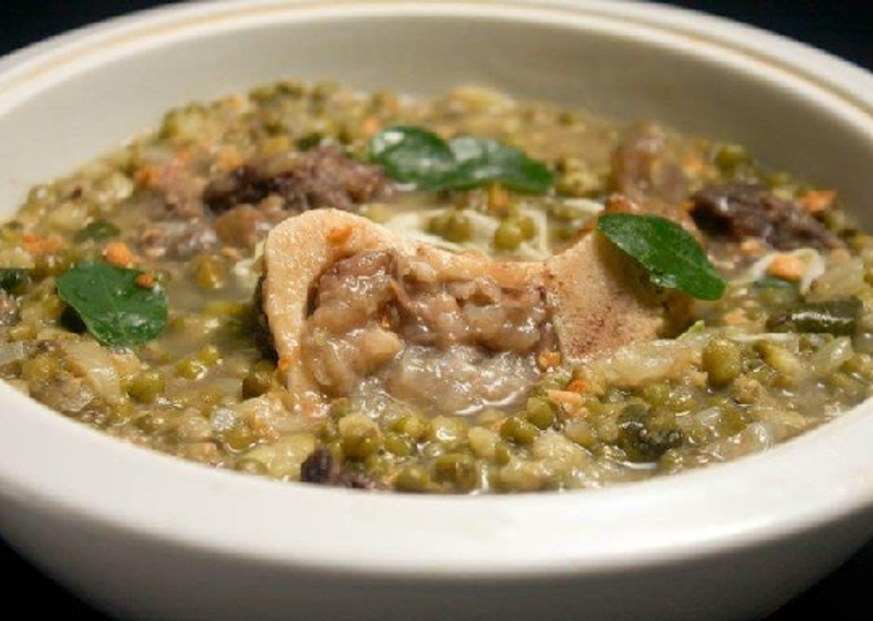 Ginisang Monggo with Pork Pata