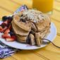 Coconut Milk Blueberry Pancakes