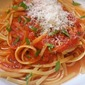Linguine in Heirloom Tomato Sauce