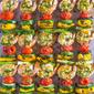 Shrimp Kabobs with Pistachio-Tarragon Pesto