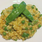 Summer Risotto with Peas, Mint, Lemon and Parmesan