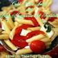 Pasta Salad with Fresh Mozzarella, Basil and Tomatoes