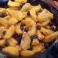 Old Fashioned Peach Blueberry Cobbler