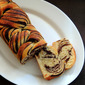Chocolate Marble Asian Bread (Roux Method)~~Home Baker's Challenge#4