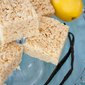 Rice Krispy Treat Ideas: Lemon Vanilla Bean Rice Crispy Treat Recipe