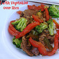Beef with Vegetables over Rice