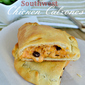 #ad Southwest Chicken Calzones – Easy Back to School Dinner Idea!