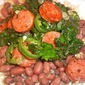 Cajun Red Beans and Rice with Andouille and Kale