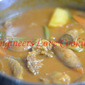 DALCA KAMBING / MINCED LAMB WITH MIXED VEGETABLE CURRY
