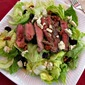 Grilled Steak Salad w/Cherries, Walnuts, and Blue Cheese