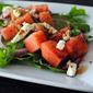 Watermelon & Feta Salad with Pickled Onions & Dill Vinaigrette