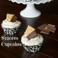 S'mores Cupcakes for Pass The Cookbook Club