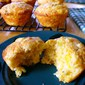 Double Corn & Green Chile Muffins