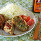 How to Make Broccoli Menchi Katsu (Minced Meat Cutlet) - Video Recipe