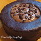 Brownie Cake with Mocha Almond Fudge Cream