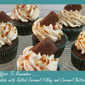 Chocolate Cupcakes with Salted Caramel - An Affair To Remember