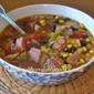 HAM AND BLACK BEAN SOUP