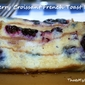 Blueberry Croissant French Toast Bread