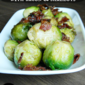 Brussels Sprouts with Bacon & Shallots #SecretRecipeClub