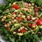 Summer Squash, Green Bean, and Chickpea Salad