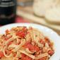 Linguini with Chicken Ragu