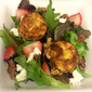 Fried Goat Cheese (over Salad)