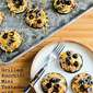 Recipe for Grilled Zucchini Mini Tostadas with Refried Beans