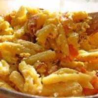 Fresh Cavatelli With Eggs And Bacon (Cavatelli 'ncatenati)